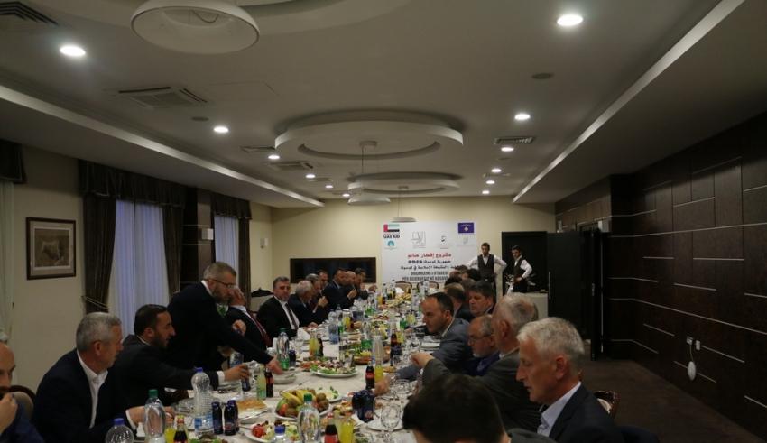 Myftiu Tërnava shtroi iftar për administratën dhe anëtarët e Kryesisë së Bashkësisë Islame të Kosovës